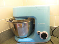 Klarstein Carina Azzura retro blue food mixer liquidiser RRP£80
