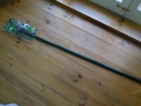 LONG HANDLED/POLE EXTENDABLE (2.4 M) TREE/SHRUB PRUNER/SAW, FLORABEST, NEW IN PACKAGING