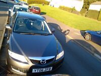 Mazda 6, mot march 17, 65000mlg, clean car for its age