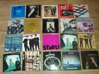 "65 x paul weller / the jam / style council 7"" singles collection"