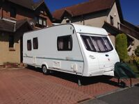 Lunar Zenith 5 Berth (2006) Caravan including electric mover and awning
