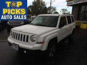 2015 Jeep Patriot HIGH ALTITUDE, 4X4, LEATHER, SUNROOF, AND MORE