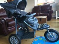 Mothercare XTREME TRAVEL SYSTEM with group 0 car seat and pram