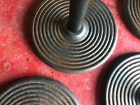 Table bases cast iron