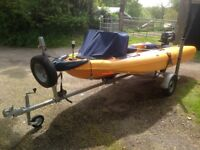 Zegul 380 Pleasure / Safety Boat With Suzuki DF4 Hp Outboard Engine And Trailer