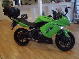 Kawasaki EX650 / 2008 / Green