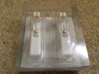 Studex system 75 ear piercing earrings new sealed gold plated or stainless steel