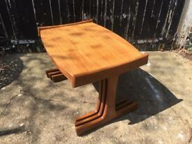 Large danish nest of tables £60