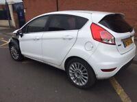 Ford Fiesta Titanium Ecoboost 2014 FRONT DAMAGE Easy Fix