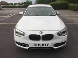 For Sale BMW 118d Sport White Leather
