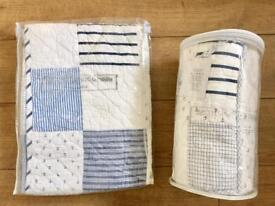 The Little White Company Cotbed Quilt & Bumper