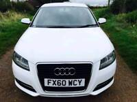 Audi A3 2.0 TDI Sport Sportback 5dr S/S EDITION+CANDY WHITE+1OWNER PX WELCOME