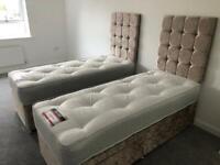 Single tufted orthopaedic mattress