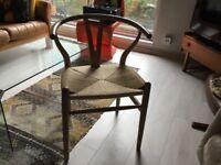 Carl Hansen chairs beech colour