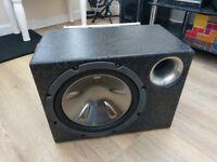 Pioneer Sub with Fox 480 Amp