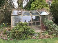 Greenhouse glass for sale cheaply - nearest offers accepted