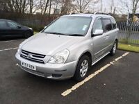 Kia sedona 2007 2.9 diesel 7 seater 10 months MOT immaculate condition inside and out 87,000 miles