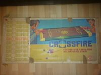 Crossfire game Ideal 1970's original vintage game boxed