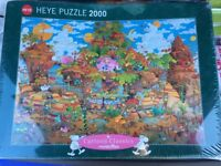 Heye cartoon classics 2000 piece jigsaw
