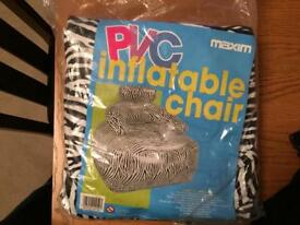 PVC inflatable chair
