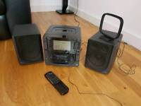 Sanyo Digital Music Centre with TAPE ,CD and Radio.