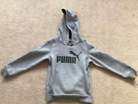 Puma tracksuit top 5-6 years