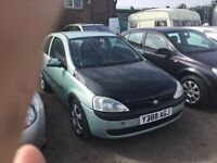 NO MOT ?.AUTOMSTIC VAUXHALL CORSA IN NICE CONDITION GOOD DRIVING CAR NO MOT NO MOT ANY TRIAL WEL
