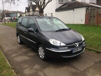 Peugeot 807 2.0 HDi FAP S 5dr, 6 MONTHS FREE WARRANTY , 8 SEATER