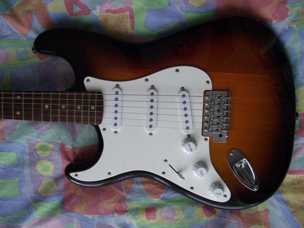 Left Handed Fender Squier Stratocaster Affinity Series Electric Guitar (  Strat ) | in Bournemouth, Dorset | Gumtree