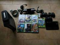 Xbox 360 Elite 120gb Console, Kinect and 8 games