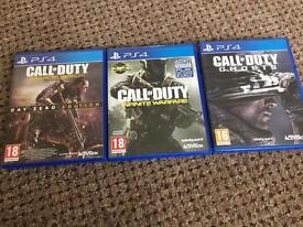 PS4 Games....£10 each