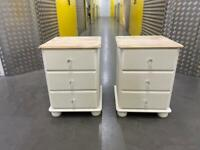 White pine side cabinets •free delivery