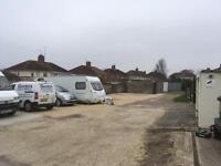 Caravan / campervan / motorhome parking spaces OFFERED