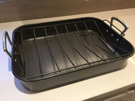 Large Non Stick Roasting Tin - Unused