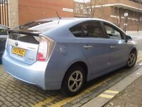 TOYOTA PRIUS PLUG IN HYBRID FULL ELECTRIC 2013 UK CAR +++ PCO UBER READY +++ 5 DOOR HATCHBACK