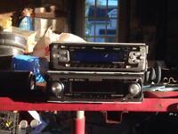 2 pioneer head units (radio)