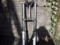 yamaha ybr125 forks and yokes