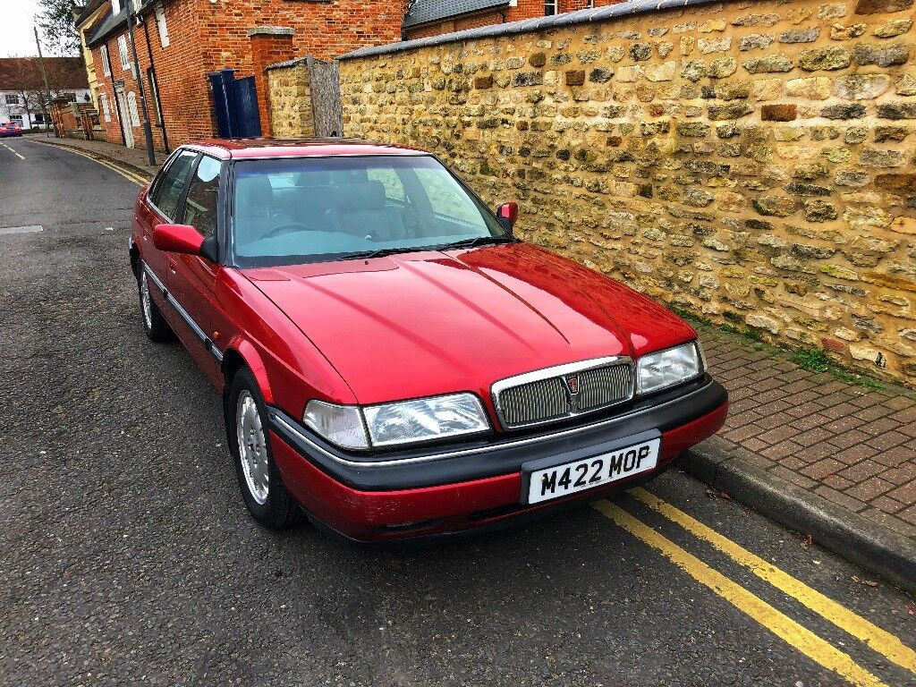 Rover 827 Sterling saloon automatic. A collectible classic.