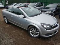 Vauxhall Astra 1.8 i Design Twin Top 2dr, GENUINE LOW MILEAGE, HPI CLEAR, 1 FORMER KEEPER,
