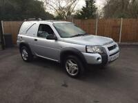 2006-06-Reg Land Rover Freelander TD4 diesel commercial van air con leather FREE UK DELIVER TO you