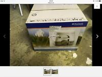 Domestic 972 portable flushing toilet. New, still in box, never used