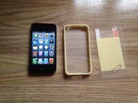 iphone 4, 16gb, black, on vodafone & lebara,