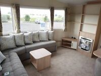 Brand new mobility static caravan for sale/Wet room/LOW GROUND RENT/on the beach/Chapel St Leonards