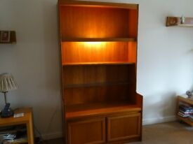 Mid century sideboard/ display unit with lighting