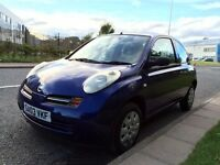 Nissan Micra 1.0 E Hatchback - FULL 12 MONTHS MOT - Low 64000 mileage! Runs and Drives very well