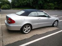 2005 CLK Mercedes auto with 75000 miles
