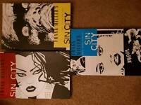 Sin city graphic novels