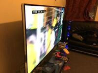 Toshiba 55 inch Ultra Hd 4K & Speakers or swap for phone