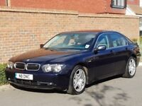 BMW 730 I SE AUTO (2003/53) + GENUINE 36,000 MILES + FBMWSH + FAMILY OWNED FROM NEW +ULTRA LOW MILES