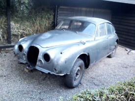 FOR SALE-Great Project /Restoration classic 1961 Mark 2 Jag 2.4 Overdrive